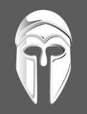 Mascherina del casco di Matel Immagini Stock