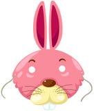 Mascherina del coniglio Immagine Stock