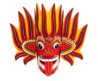 Mascherina del diavolo del fuoco Fotografie Stock Libere da Diritti