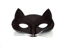 Mascherina del gatto Fotografie Stock Libere da Diritti