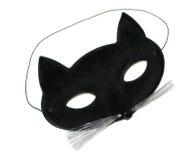 Mascherina del gatto Immagine Stock