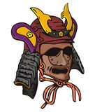Mascherina del samurai Immagine Stock