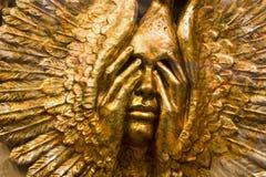 Mascherina dell'oro da Venezia fotografia stock libera da diritti