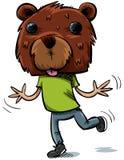 Mascherina dell'orso Fotografia Stock Libera da Diritti