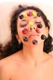 Mascherina dell'uva fotografia stock libera da diritti