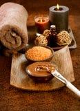Mascherina della stazione termale del cioccolato Fotografie Stock