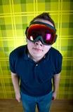 Mascherina dello Snowboard fotografia stock libera da diritti