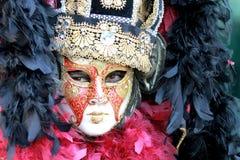 Mascherina di carnevale Immagine Stock