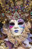 Mascherina di carnevale di Venezia Fotografia Stock Libera da Diritti