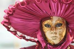 Mascherina di carnevale di Venezia immagine stock libera da diritti
