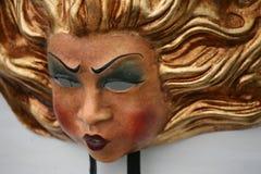 Mascherina di carnevale: sole Fotografia Stock Libera da Diritti