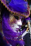 Mascherina di carnevale, Venezia Fotografia Stock