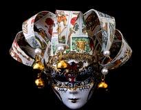 Mascherina di carnevale, Venezia Italia fotografie stock libere da diritti