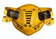 Mascherina di cuoio futuristica alla moda Fotografie Stock