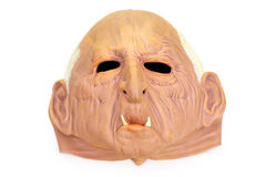 Mascherina di gomma di Halloween Fotografia Stock