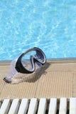 Mascherina di immersione subacquea Fotografia Stock