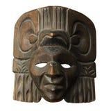Mascherina di legno dell'America Centrale Fotografie Stock Libere da Diritti