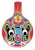 Mascherina di opera di Pechino Fotografie Stock