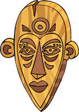 Maschera di Tiki Immagini Stock