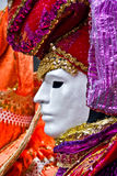 Mascherina di Venezia, carnevale. Fotografie Stock Libere da Diritti