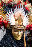 Mascherina di Venezia, carnevale. Fotografie Stock