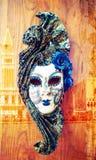 Mascherina di Venezia di carnevale Fotografia Stock Libera da Diritti