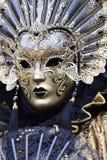 Mascherina dorata Fotografia Stock Libera da Diritti
