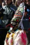 Mascherina e costume del Mummer Fotografia Stock Libera da Diritti