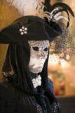 Mascherina e costume di carnevale a Venezia Fotografia Stock Libera da Diritti