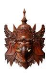 Mascherina indonesiana di legno: Ganesh Immagini Stock Libere da Diritti