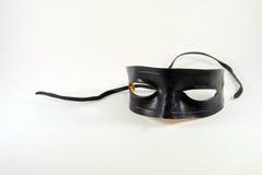 Mascherina nera Fotografia Stock