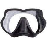 Mascherina per immersione subacquea (presa d'aria). Fine in su Fotografia Stock
