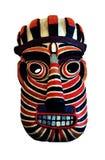 mascherina tribale Fotografie Stock
