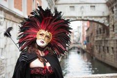 Mascherina a Venezia, Italia Immagini Stock Libere da Diritti