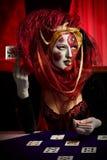 Mascherina veneziana Fotografia Stock Libera da Diritti