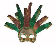 Mascherina veneziana 2 di carnevale Fotografia Stock