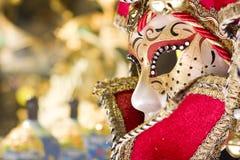 Mascherina veneziana Fotografia Stock