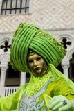 Mascherina veneziana di carnevale Fotografie Stock Libere da Diritti