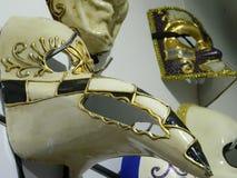 Mascherina veneziana di carnevale Immagini Stock Libere da Diritti