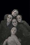 mascherine Fotografie Stock