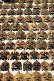 Mascherine africane Fotografia Stock Libera da Diritti