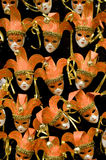 Mascherine arancioni Fotografie Stock Libere da Diritti