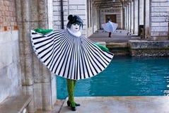 Mascherine, carnevale di Venezia Immagini Stock