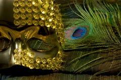 Mascherine di carnevale Fotografie Stock