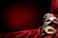 Mascherine di carnevale Fotografia Stock Libera da Diritti