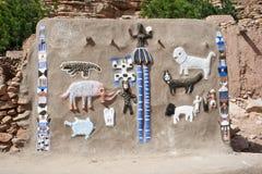 Mascherine di Dogon e degli animali. Fotografia Stock Libera da Diritti