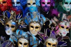 Mascherine di Venezia Immagini Stock Libere da Diritti