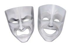 Mascherine tragicomiche del teatro Immagini Stock Libere da Diritti