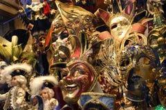 Mascherine veneziane Immagini Stock Libere da Diritti