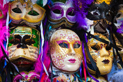Mascherine veneziane di carnevale Immagine Stock Libera da Diritti